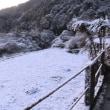 挑戦田舎ぐらし 今シーズン始めて本格的に雪が積もりました!