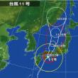 14年8月10日(日) 曇雨 台風11号