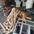 薪割り機試動。