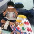 平成29年8月11日(金)~孫と浜川プール