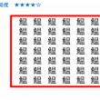 【漢字の間違い探し】全11問!1つだけ違う漢字を見つけてください!
