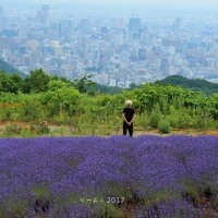 ラベンダー香る空♪・・・by空倶楽部