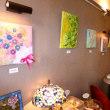 同級生 八木美幸(旧姓 横山)さんの造形画個展が開催されました。