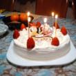 ケーキ食べました。