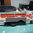 1/43 model cars 日野トレーラーバス 1949 /T13B+T26A 吊り革2