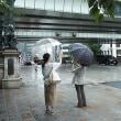 雨もまた 楽しからずや日本橋