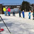 スキー強化合宿1日目