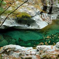 4378 深緑の川