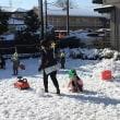 雪景色の火曜日