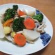 イカ大根☆温野菜サラダ