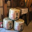 花の井西岡本店の酒蔵風景