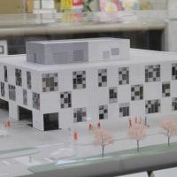 新庁舎完成イメージ模型