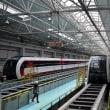 北京初のリニア路線、試運転を開始。