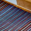 三河木綿を織る