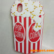 ポップコーンデザインの私(iphone8/7ケース)を持って、映画館に行こう!