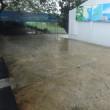 その1 昼前から11時半まで雨