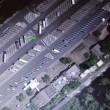 東名高速道路 鮎沢PAの昼と夜
