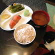 厚岸の紅鮭と麦ご飯