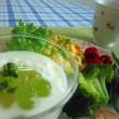 グリーン色で(ღˇ◡ˇ)♡ 涼やかな食卓🍴