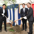 PFIによる第二期境町定住促進住宅の起工式に出席。茨城県境町