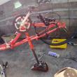 ヨットの旅の必需品自転車
