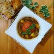ステーキ肉とトマトの豪華スープカレー