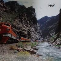 SEE THE WORLD BY TRAIN (世界の車窓から)CALENDAR:2018