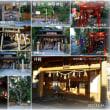 ●三重県 四日市市・工場夜景 鳥羽・神明神社 志摩・賢島宝松苑から コラージュ