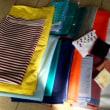 布を沢山いただきました。