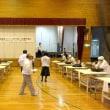 全麺協そば打ち段位認定会・尾道大会の会場準備