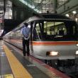 ひだ36号で、大阪駅に今日も定着…