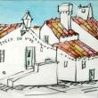 1598.カステロ・デ・ヴィデの町角