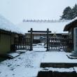 本格的な冬景色になった会津地方です(・。・)