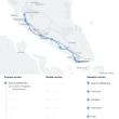 シンガポールとクアラルンプールを結ぶ高速鉄道。
