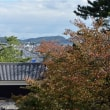 秋の松江城