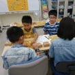 9月23日ヤマダ電機大泉学園の子供教室の風景
