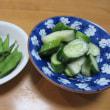 天ぷら3品☆ナスと厚揚げの煮物
