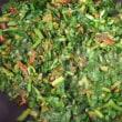 大根菜の雑炊とふりかけ