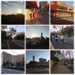 朝飯後のウォーキングをしてきました。素晴らしい天気で気持ち良かったです。アフリカの人達がマラソンの練習で走っています。