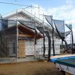 吉備高原都市の家、工事の進捗