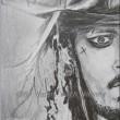 パイレーツ最後の海賊★ジャック鉛筆画