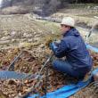 『踏み込み温床づくり』自然菜園スクール「自然育苗タネ採りコース」