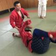 熊本県立盲学校柔道場で板楠忠士先生が指導!