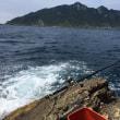 宗像沖ノ島の石鯛釣り