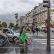 雨・パリ・自転車