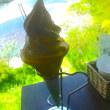清流仁淀川とアイス