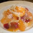 いろんな柑橘のサラダデザート できました!