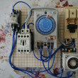灌水モーターポンプのタイマースイッチ製作