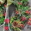 11月のフラワーアレンジメント クリスマスのリース