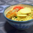 昨日の晩ご飯は家内手料理の沖縄そば~♪ (*^_^*)